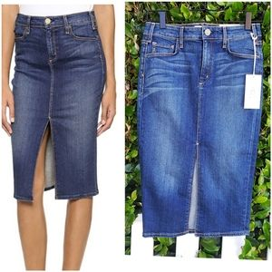 | McGuire Denim | Marino Denim Pencil Skirt